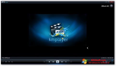 સ્ક્રીનશૉટ KMPlayer Windows 10
