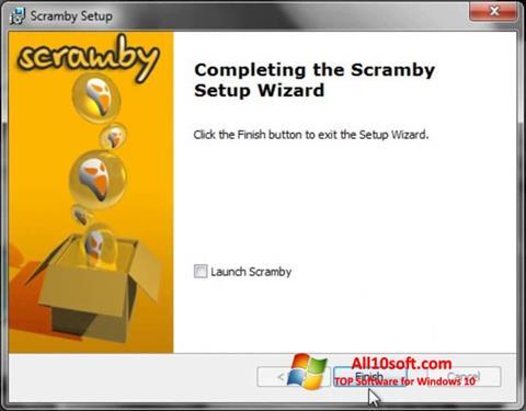 સ્ક્રીનશૉટ Scramby Windows 10