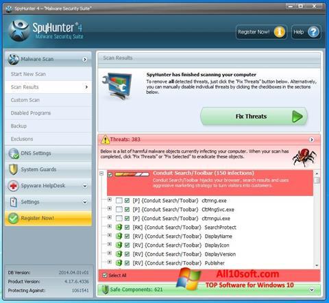 સ્ક્રીનશૉટ SpyHunter Windows 10
