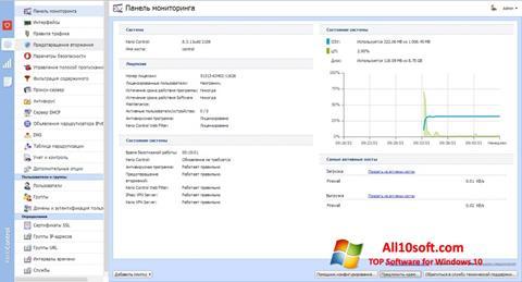 સ્ક્રીનશૉટ Kerio Control Windows 10